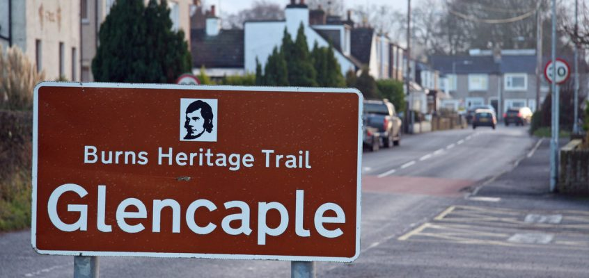 Follow the Burns Heritage Trail through Caerlaverock